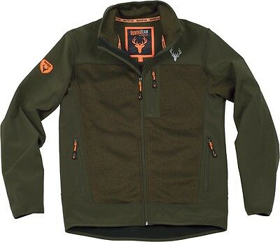Chaqueta Workshell verde - Caza - Hunting - Uniformes - Vest