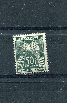 Timbre/Stamp - France - 1946/55 -  N° 88  TP Taxe Neuf ** - TTB - Cote: + 28 €