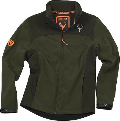 Chaqueta Workshell verde-marrón - Caza - Hunting - Uniformes