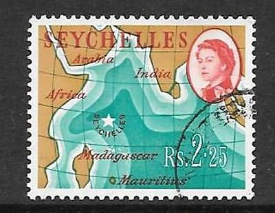 SEYCHELLES SG209 1962 2r.25 DEFINITIVE FINE USED