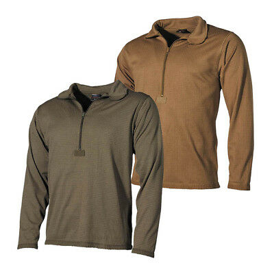MFH Gen III ECWCS Level II Base Layer Top Coyote, Green