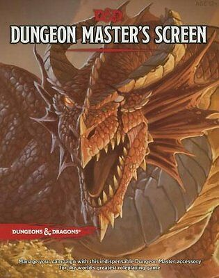 Dungeons & Dragons D&D 5E (5th Edition) Dungeon Master's DM Screen (New)