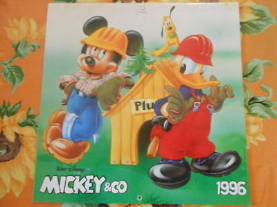 Calendario Disney Mickey & Co 1996
