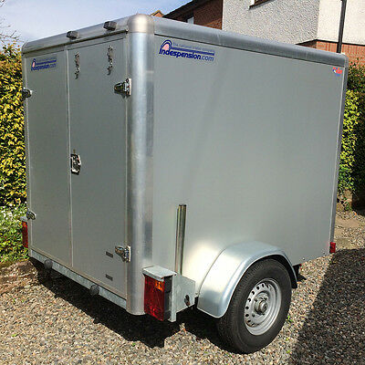 Indespension Tow a Van 2 Box Trailer