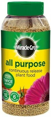 Miracle-Gro All Purpose Continuous Release Plant Food Shaker Jar, 1 kg UK