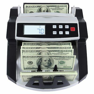 2017 Money Bill Cash Counter Bank Machine Currency Counting Uv Counterfeit Hl