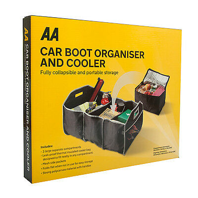 AA Car boot Organiser & Cooler