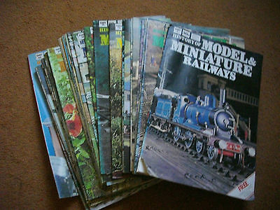 History  Of Model And Miniature Railways  Magazine Part Collection  X  38