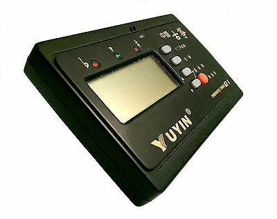 NEW YUYIN Chromatic/Guzheng Professional Tuner – for ALL instruments