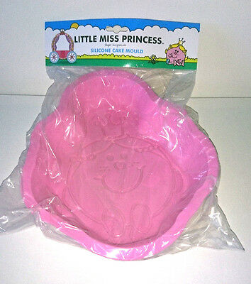 LITTLE MISS PRINCESS Large SILICONE CAKE MOULD Bake MR MEN BIRTHDAY PARTY GIRLS