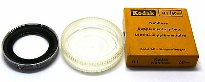 Kodak NI 60mm supplementary close up lens nahlinse Retina boxed EXC+ #10245