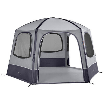 Vango Airbeam Air Hub HEX Inflatable Gazebo Event Shelter - GREY