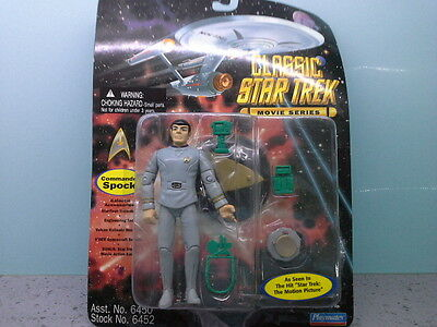 playmates commander spock from star trek the motion picture
