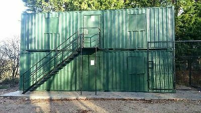 32ft Anti Vandal Office / Canteen Container