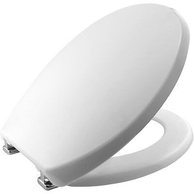 Bemis Buxton Stay Tight 2850CPT Toilet Seat - White with StaTite Hinges