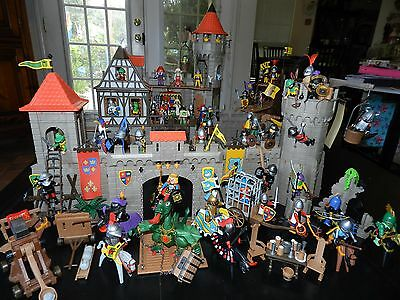 l33c20 middle ages-wall with window castle balcony 3666 wrinkled Playmobil