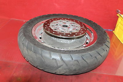 98 Harley-davidson Xl1200 Oem Rear Wheel Back Rim W Tire W Rotor