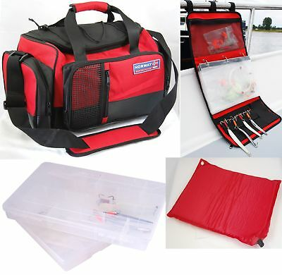 Spro Norway Expedition All in One Set Tasche Rig Relling Wallet 2 Boxen Matte