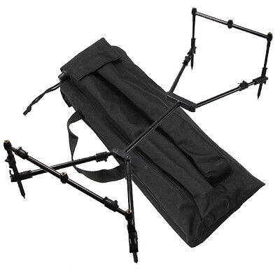 NGT Pro Nomadic Travel Fishing Rod Pod Rest with 3 Pairs of Banksticks and Case