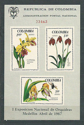Colombia - Hojas Yvert 27 ** Mnh