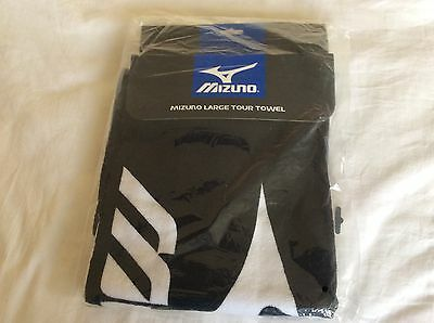 Mizuno Golf Large Tour Towel Towel Black Brand New