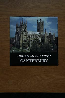 Organ Music from Canterbury Cathedral - single record