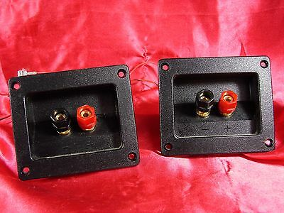 Infinity Reference 2000.2 Pair Of Crossover Power Plug Speaker Terminal Tested