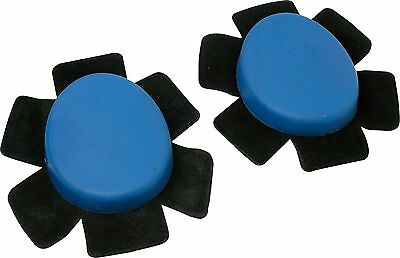 Motopart Universal Knee Slider Set Blue Motorcycle Race Sliders