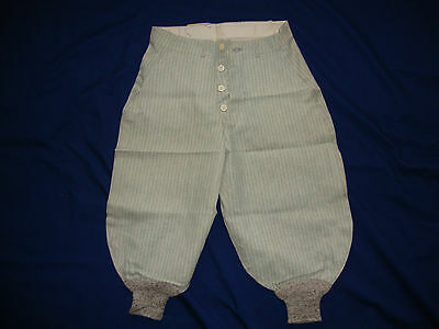Antique Vintage Boy's Knickers Pants Button Fly never worn