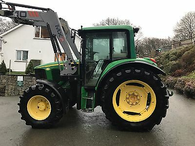 John Deere 6420 With Chilton T 10 Loader 4wd Tractor