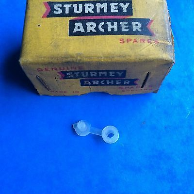 New Old Stock Sturmey Archer Plastic Cap For Oil Hole, Part Number S545