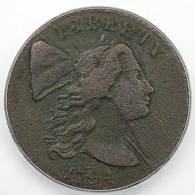 1794 S-23 R-4+ ICG VF 20 Details Liberty Cap Large Cent Coin 1c
