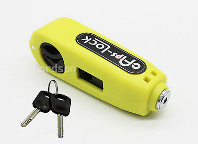 Motorcycle Motorbike Scooter Handlebar Throttle Grip Lock Security Lock
