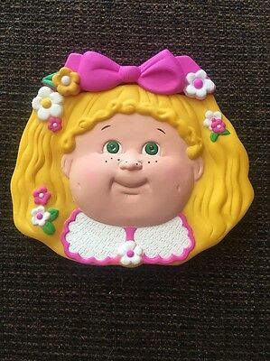 Blonde Cabbage Patch Kids Portable Comb and Mirror 1995 Rare Vintage