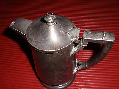 Antique Coffee Or Tea Pot / Pitcher I S  International Silver Co.approx. 7 Inche