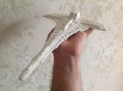 Stargate SGU Destiny spaceship. Big version.  Unpainted Assembled