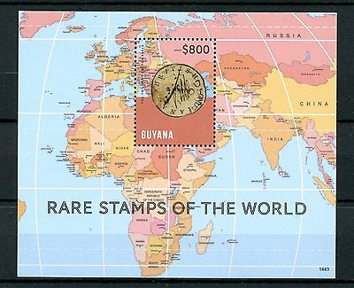 Guyana 2014 MNH Rare Stamps of World 1v S/S Two Cent Cotton Reels Stamps