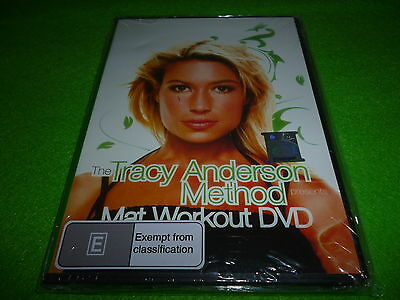 THE TRACY ANDERSON METHOD MAT WORKOUT (DVD)*Beginner Fitness Shakira Trainer*New