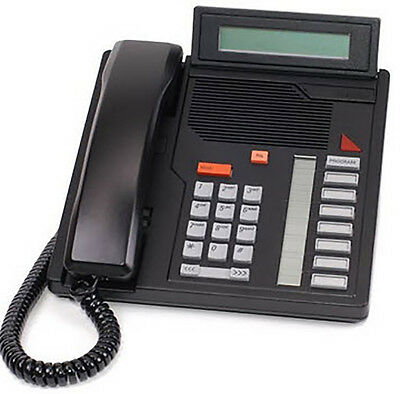 Nortel Meridian Aastra M5208 Centrex Telephone Black (Refurbished and working)