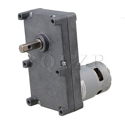 BQLZR Low Speed Electric Geared Motors DC12V 13RPM Metal Gearbox Motors