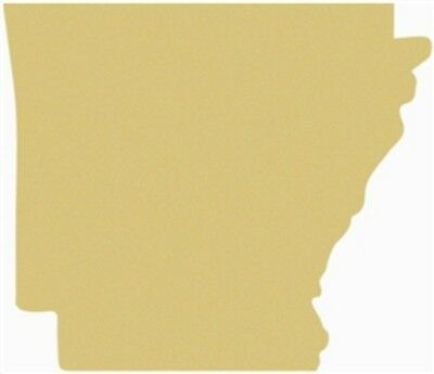 Arkansas Unfinished Cutout, Wooden State, 24'' Paintable MDF DIY Craft