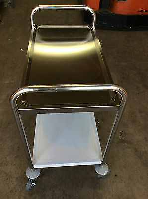 Brand New 2-Tier Stainless Steel Trolley