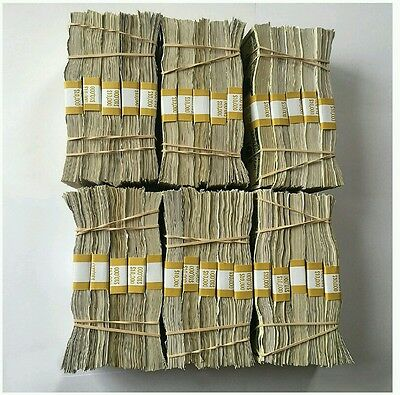 Fake Money for Banknote Training Currency Movie Prop Paper Trade Music Counter