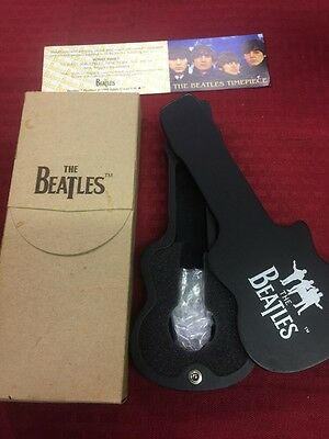 Beatles Watch Black Guitar Case Apple Corp Collector's Item CASE ONLY