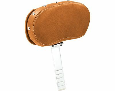 Indian Motorcycle® Cruiser / Touring Leather Driver Backrest - Tan -2879542-06