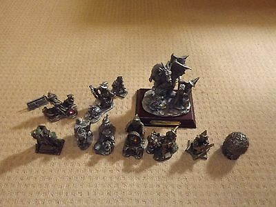 12 of Tudor Mint Myth and Magic figures collection