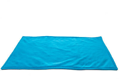 WATERPROOF Guinea Pig, and small animal fleece cage liner turquoise 140x59cm