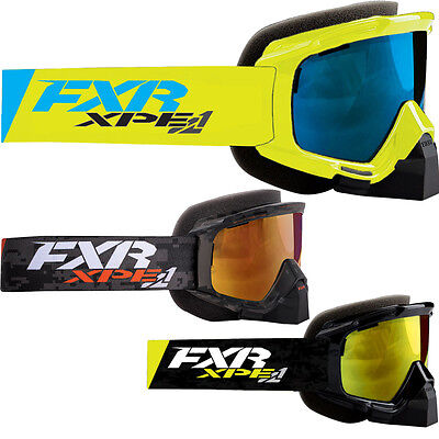 FXR Racing Mission XPE Mens Sled Snowboard Snowmobile Goggles