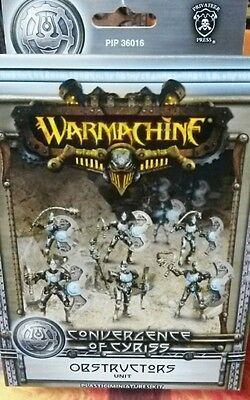 Obstructors Unit Convergence of Cyriss 36016 Warmachine Miniatures New in Box