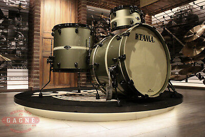 Tama Starclassic Performer 3-piece Tempest Green Stripe LIMITED Drum Set - New!